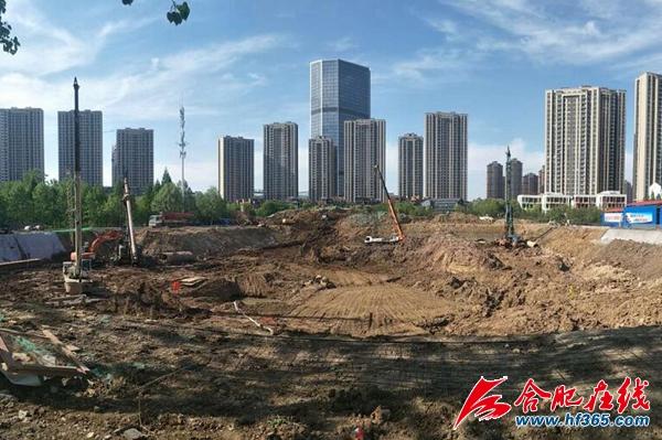 清三冲初期雨水调蓄项目火热建设中